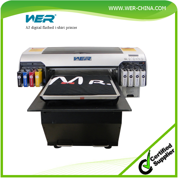 CE approved A2 4880 t shirt printing machine ,dtg printer