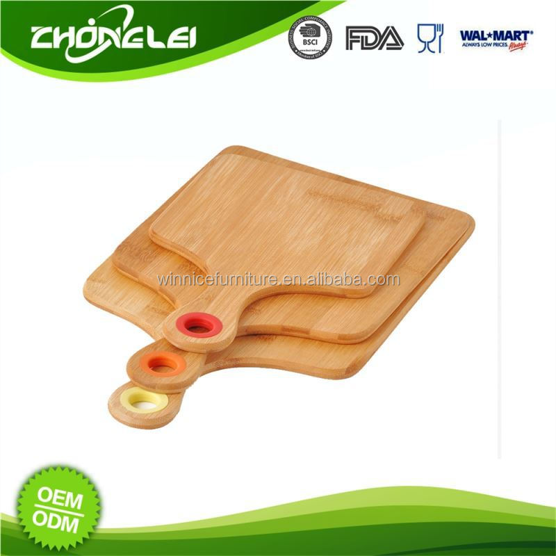 Make To Order Premium Quality SGS Bamboo Cutting Board Silicone