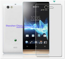 2x Clear Glossy LCD Screen Protector Guard Cover Film Shield For Sony Xperia miro ST23i ST23a