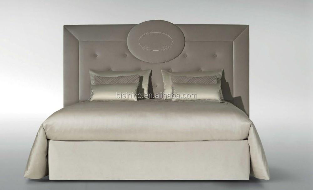 Nuevo Diseño Italia Botón Tufted Cama King Size/lujo Cama Doble Con ...