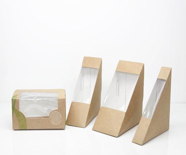 Wholesaler sandwich boxes wholesale sandwich boxes for Triangle wholesale printing
