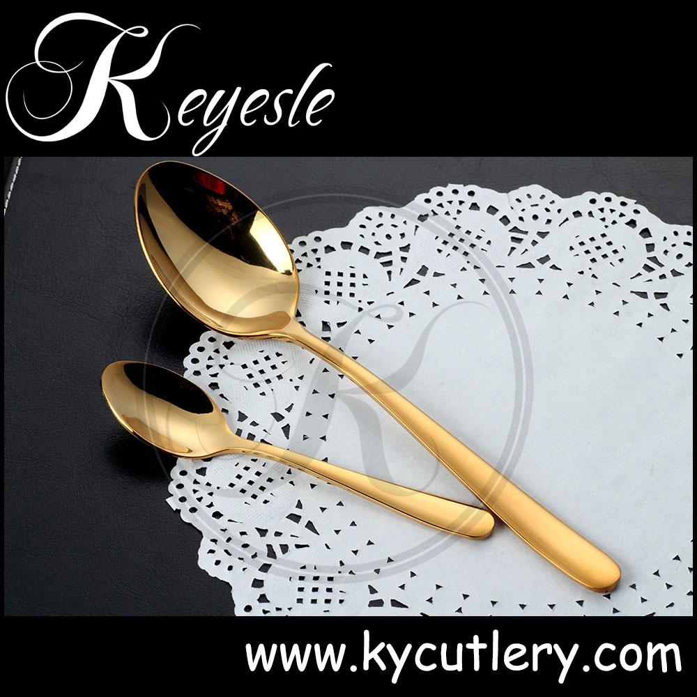 rose or couverts couverts en acier inoxydable or couverts de mariage lot de couverts de table. Black Bedroom Furniture Sets. Home Design Ideas