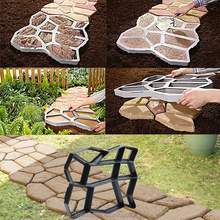 Paving Stone Mold for pavement paths Pathway mould plastic concrete pavement mould