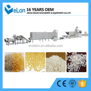 delon crystal rice Extruder line