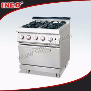 Commercial Hotel 4 Burner Small Gas Range Oven/apartment Stove ...