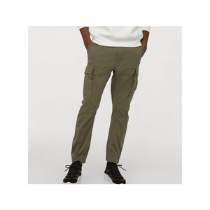 High quality stretch cotton twill fabric mens Cargo pants
