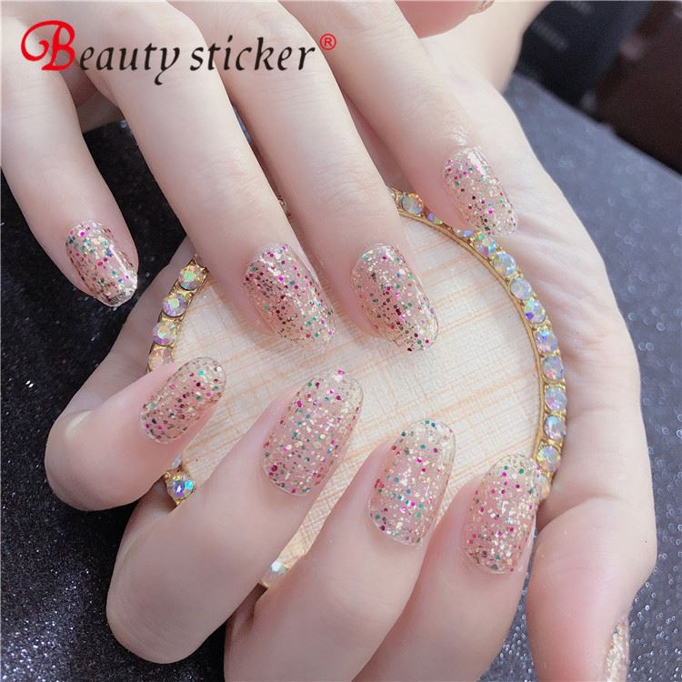 Wholesale Newest Product Nail Art DIY 3D Halloween Christmas Cartoon Nail Sticker