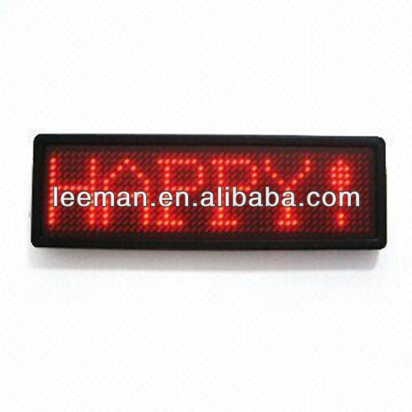 led screen desktop led message display programmable tv video led display screen