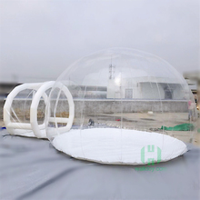 Clear inflatable bubble tent / bubble tent house / bubble tree lodge with factory price for sale and rent
