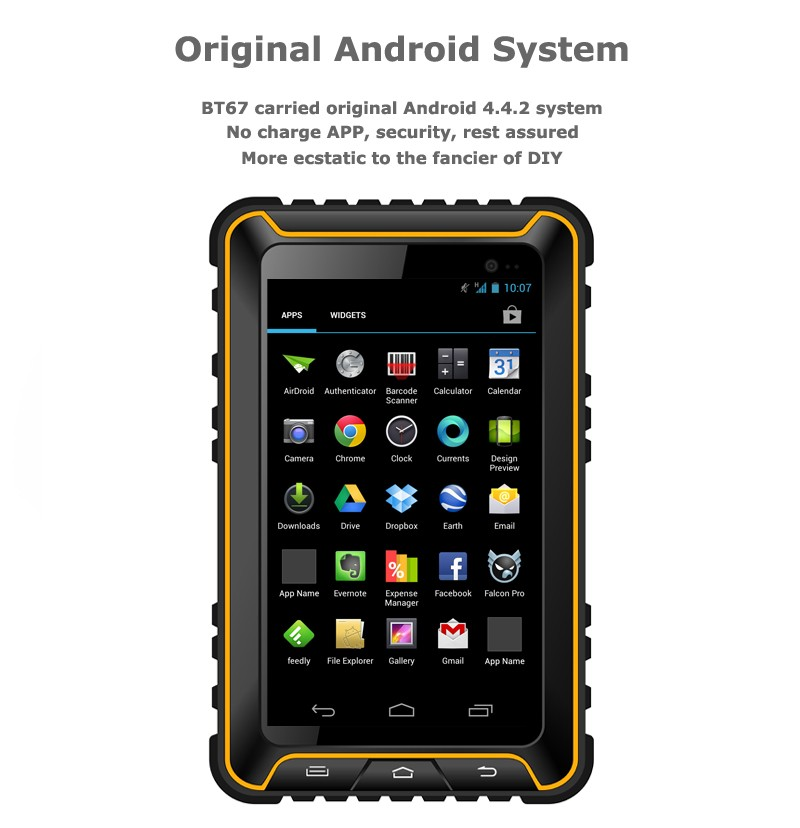 Rugged Tablet PC IP67 Android Waterproof phone Shockproof ublox GPS