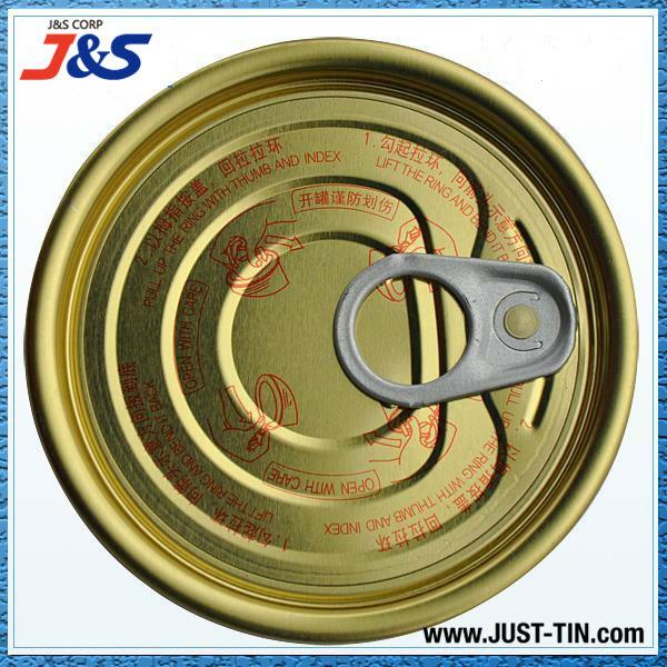 Le Gros Y211S 65.3mm pour animaux de compagnie avec couvercle facile à ouvrir pour les aliments en conserve