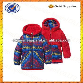 0b509e38f Custom Toddler Boy's Tribbles Reversible Jacket/Stylish Kids Boy Sherpa  Fleece Jacket Wholesale