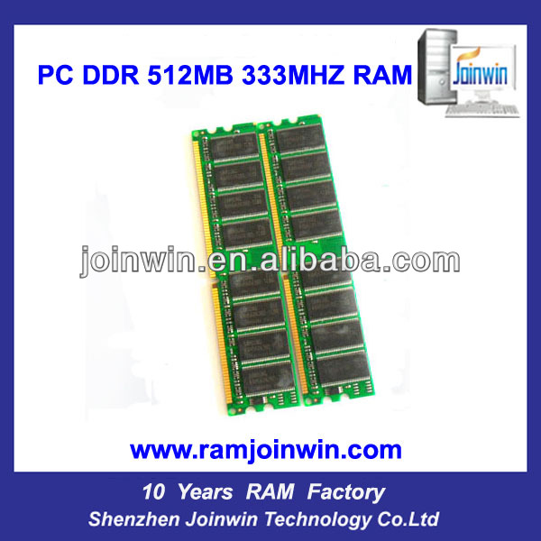 support AMD full compatible ddr 333 mhz 512mb memory ram
