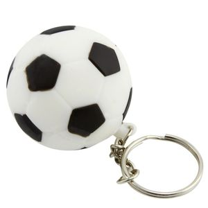 Wholesale 128Gb 2Gb Pvc Plastic Soccer Ball Usb Flash Drive Silver Key Chain Silicone Football 16Gb 8Gb Printing Memory Stick