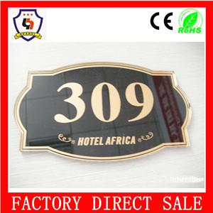 New Design Bulk Cheap Door Number Plates Wholesale Hotel Room ...