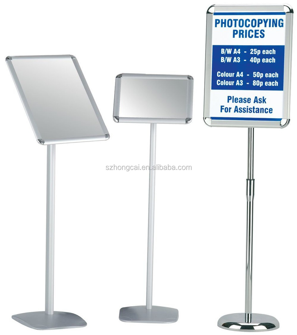 A4 Paper Board Sign Holder