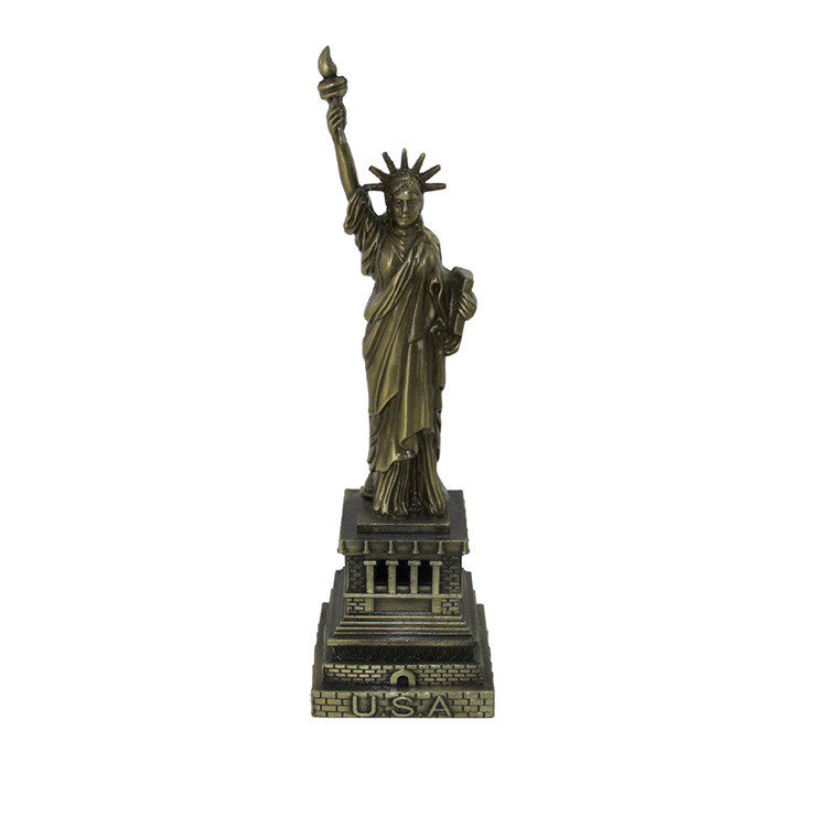 metal Statue of Liberty