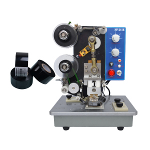 Manual type ribbon inked coding machine for packaging industry