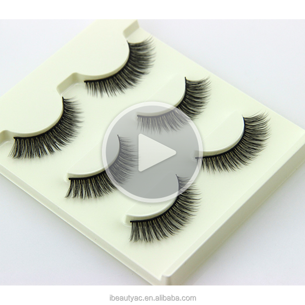 i-Beauty False Eyelashes Plastic Tray Eyelashes Model 21 Lashes Vietnam