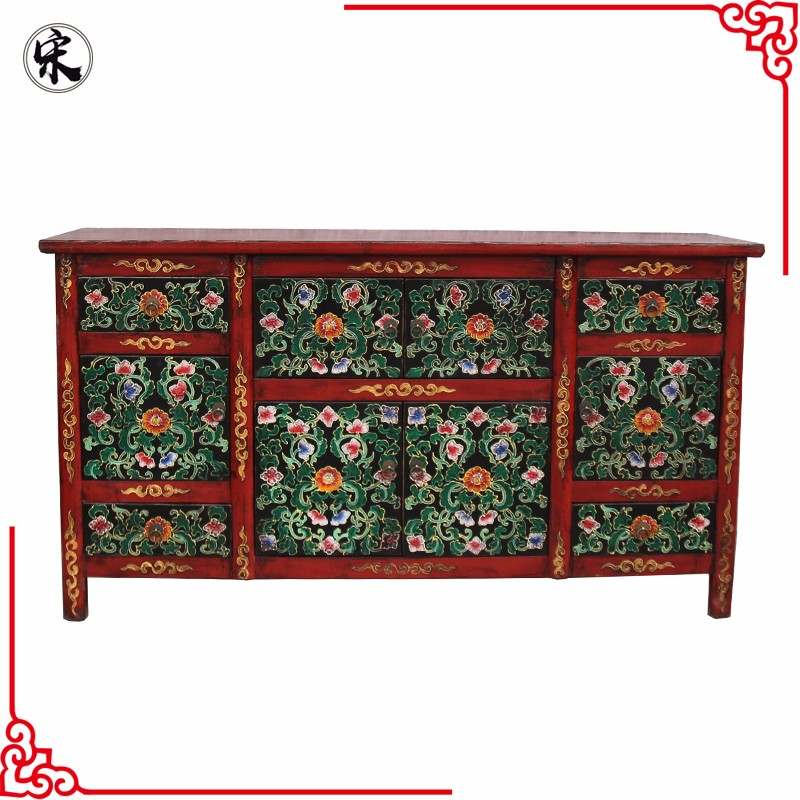 Chinese Antique Hand Painted Tibetan Furniture Buy Tibetan Furniture Hand Painted Tibetan