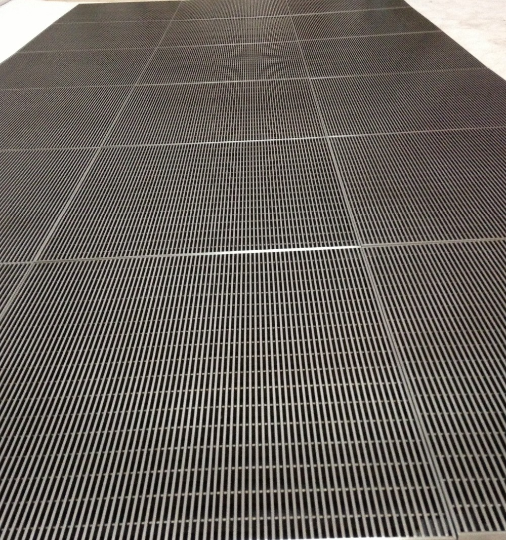 China Commercial Entrance Matting Stainless Steel Door Mat