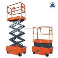 300kg Self-propelled Hydraulic Electric Small Scissor Lift Platform