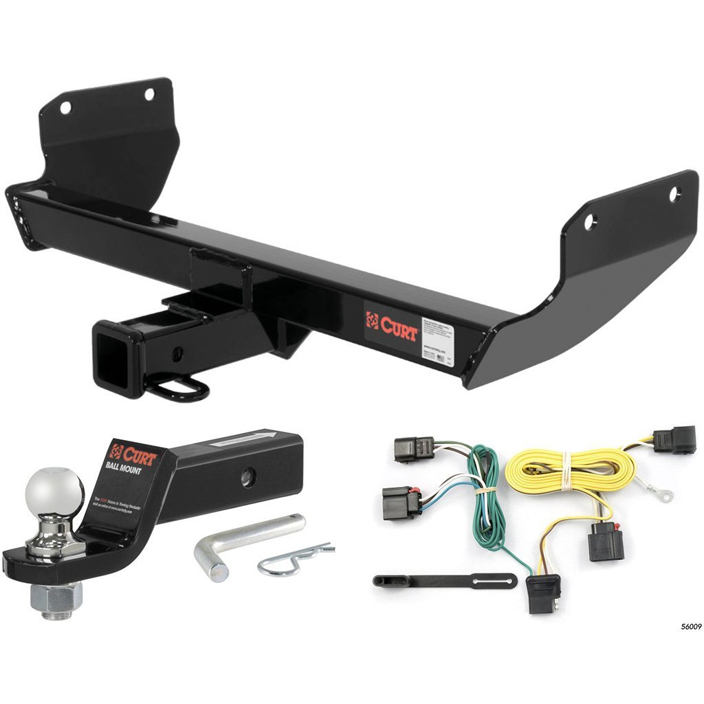 "CURT Class 3 Hitch Tow Package w/ 1-7/8"" Ball for 2011-2013 Jeep Grand Cherokee"