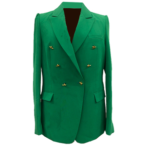 Polyester Sexy Fashion Party Blazer Women