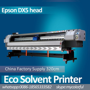 old machine eco solvent ink 1.8m printing size best support service industrial printer