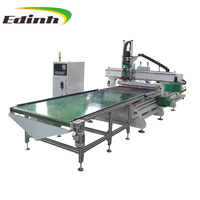 Hot sale Edinh woodworking engraving cnc 4-axis 3d furniture making cnc router machine for sale