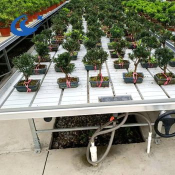 Rolling Tables Ebb And Flow Hydroponic Systems