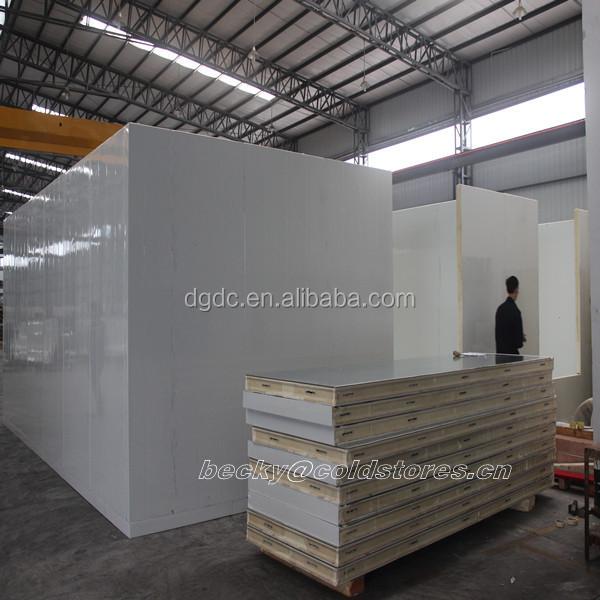 Fish Processing Cold Storage Room With Blast Freezer