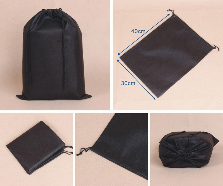 Non Woven Shoe Dust Bag Shoes Packaging Drawstring Bags