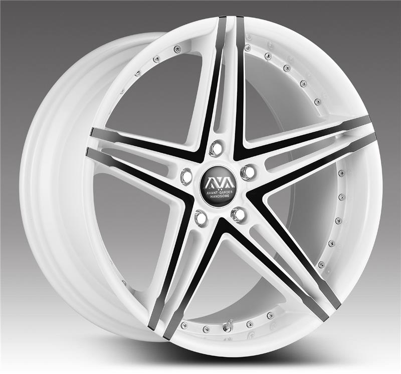 AVA 6061-t6 car emr used aluminum alloy wheels