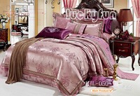 Wholesale Bedding Set jacquard bedding linen quilt cover set twin hors comforter set