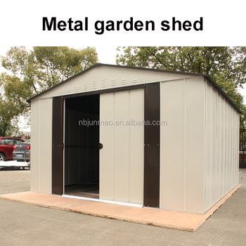 Ningbo Factory Prefab Garden Furniture Outdoor Low Cost Metal Storage Shed
