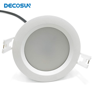 cutout 78mm 95mm 160mm bathroom recessed lighting white and black 5w 7w 9w 12w 15w 18w 24w IP65 led downlight