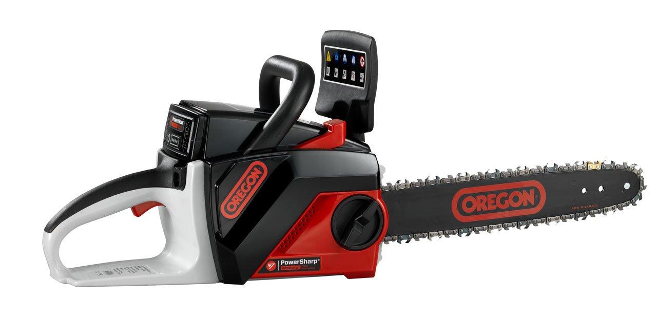 OREGON CORDLESS 40 Volt MAX CS250-E6 Saw Kit with 2.4 Ah Battery pack