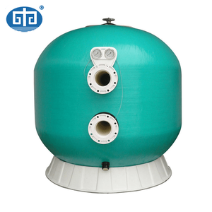 Large capacity high pressure sand filter for water treatment