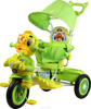 NEW CHILDREN TRICYCLE WITH LOVELY MUSICAL AND FLASHING DUCK FACE AND BIG WHEELS