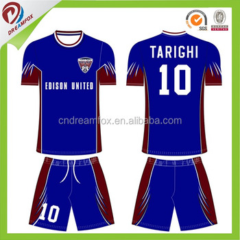 Online Shopping 100% Polyester Sublimation Football Jersey 40309234602e