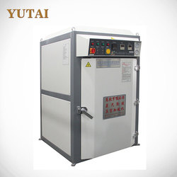 High output YT-133 vacuum vulcanizing shoes forming machine with competitive price.