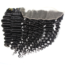 13*6 malaisienne Vierge Cheveux <span class=keywords><strong>Vague</strong></span> Profonde <span class=keywords><strong>Dentelle</strong></span> Frontale Pièce