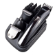 4 in 1 Rechargeable Hair Trimmer Titanium Hair Clipper Electric Shaver Beard Trimmer KM-500