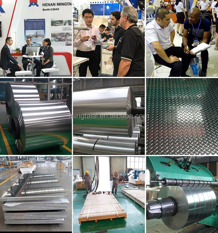 3 barres En Relief feuille D'aluminium 3003 2