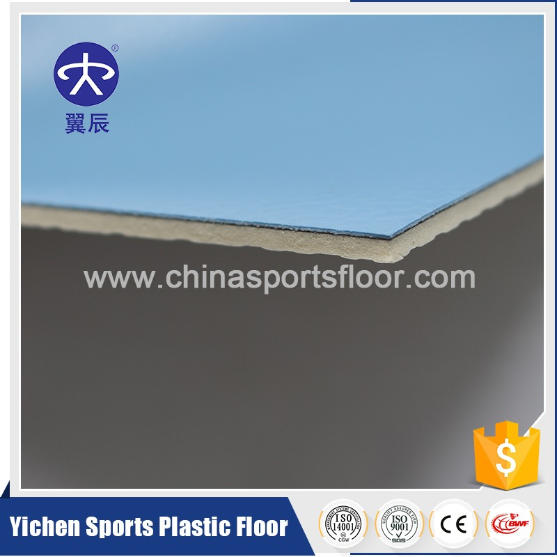 portable football/basketball/volley court/badminton court sport PVC flooring