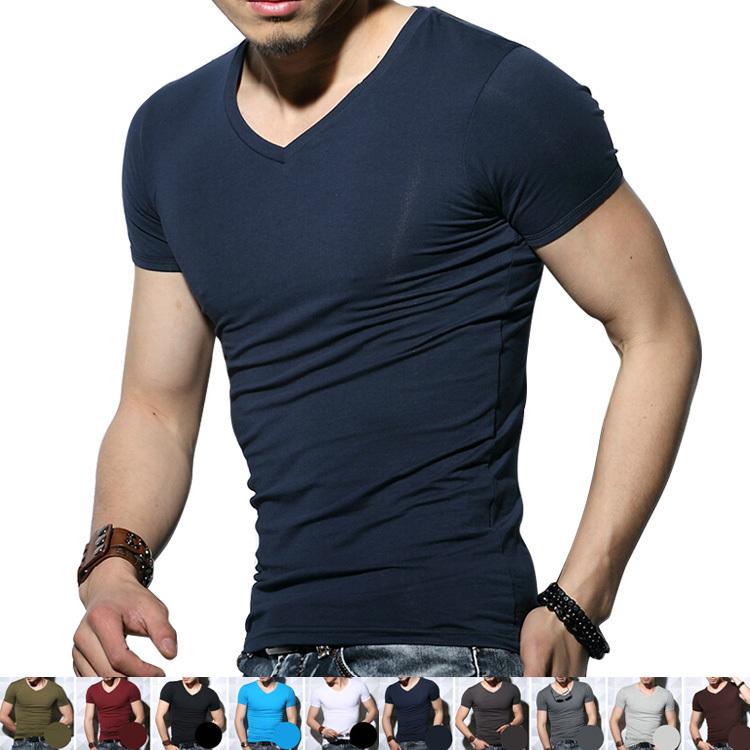 fashionablestyle enjoy best price choose latest Wholesale Slim Fit T Shirt Men In China Plain V Neck Slim Fit T Shirt For  Men - Buy Wholesale Slim Fit T Shirt For Men,V Neck T-shirts Men,V Neck ...