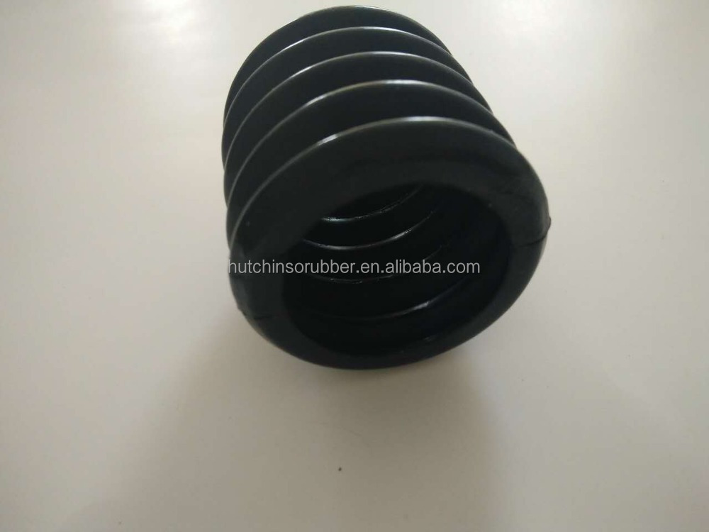 customized silicone rubber bellows sleeve/hose/tube/pipe
