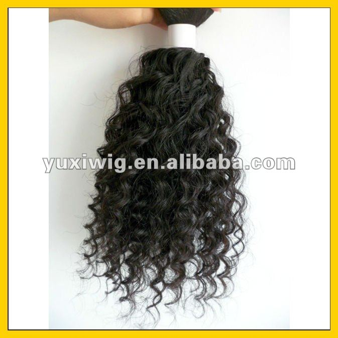 loose curl wave human hair weaving