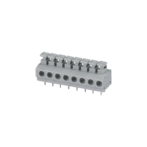 3.81/3.96/5.00/7.50mm pcb screwless cage clamp push-in connectors